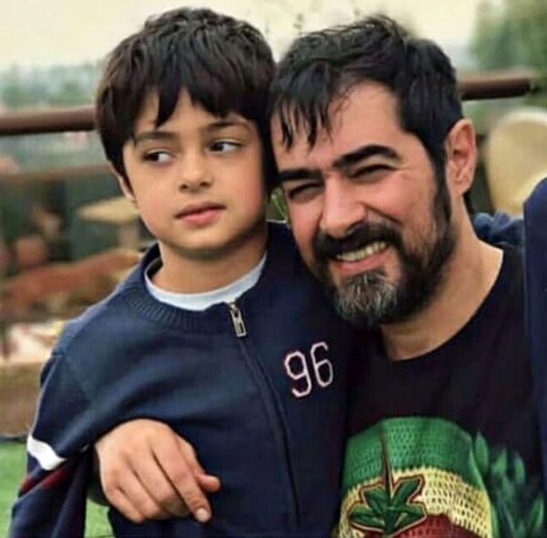 شهاب حسینی و وسر کوچیکش + عکس