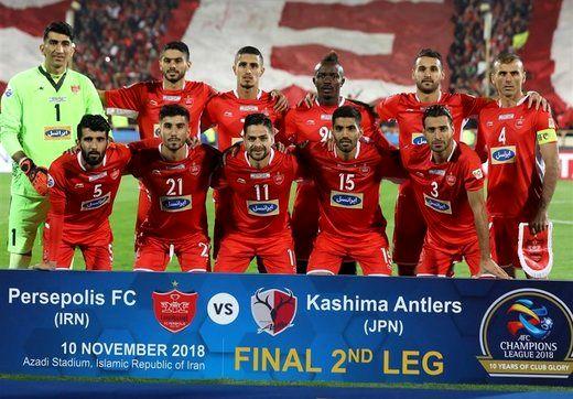 پاداش آسیایی پرسپولیس در حساب AFC