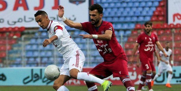 تساوی نساجی و تراکتور در هفته دوم لیگ برتر فوتبال