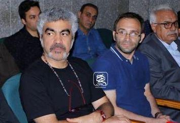 کارگردان لیسانسهها در مراسم ختم پدر امیرحسین رستمی