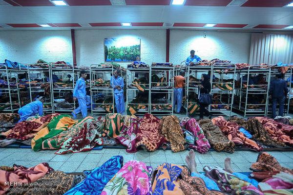 آخرین آمار آوارگان و کارتن خواب ها در پایتخت