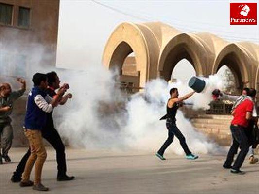 درگیری در نزدیکی میدان التحریر قاهره