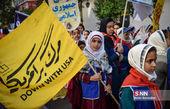 مراسم راهپیمایی یوم الله ۱۳ آبان در شیراز و اصفهان و رشت