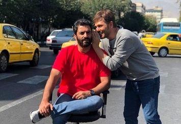 وسیله نقلیه خیلی خاص منوچهر هادی در خیابان +عکس