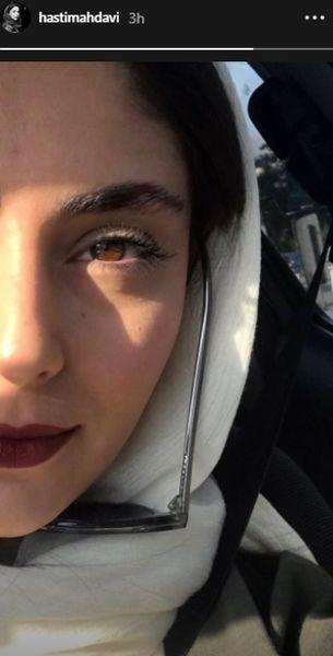 عکس بازیگر جوان سریال جراحت از نمای نزدیک
