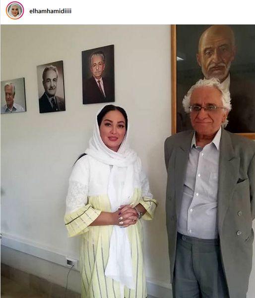 حضور الهام حمیدی در نازی آباد