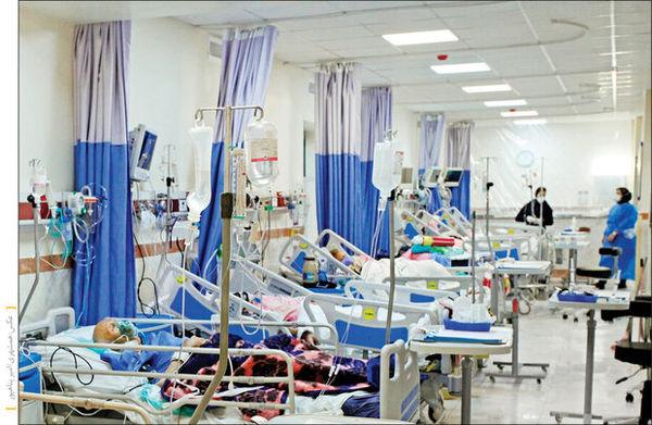 مرگهای کرونا یی باز هم رکورد زد / ۵۸۸ نفر جان خود را از دست دادند
