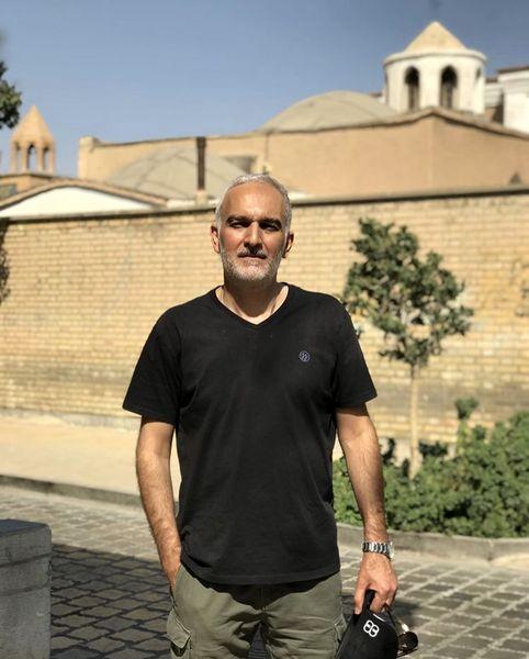 بیژن بنفشه خواه در اصفهان + عکس