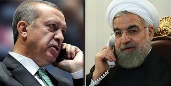 تماس تلفنی روحانی با رجب طیب اردوغان رئیس جمهور ترکیه