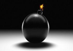 کشف یک بمب منفجره نشده در زمان جنگ در دورود