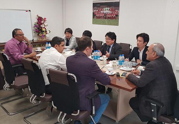 برگزاری نشست مدیران پرسپولیس با نمایندگان باشگاه کاشیما آنتلرز