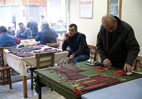 بازار تسبیح فروشان در آدانای ترکیه