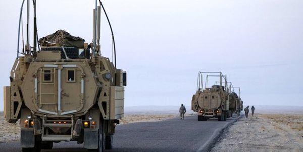 پنجمین کاروان لجستیکی آمریکا در عراق هدف قرار گرفت