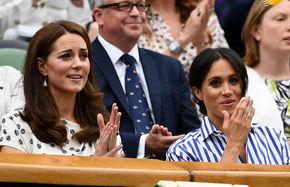 جاریهای سلطنتی در حال تماشای تنیس ویمبلدون