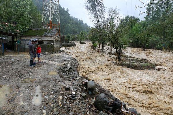 گزارش بیشترین تخریب سیل در غرب مازندران