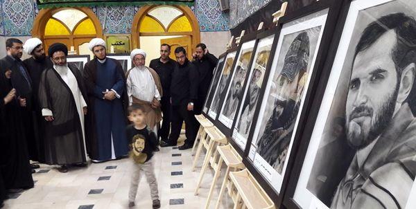 نمایشگاه ۵ روزه که در حرم حضرت زینب و حرم حضرت رقیه سلام الله علیهما برگزار شد
