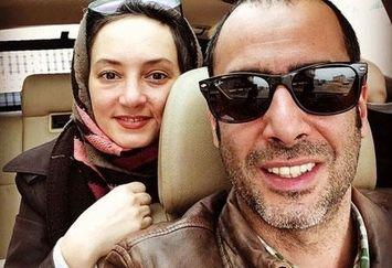 سحر ولدبیگی و همسر بازیگرش در خودرو شیکشان+عکس