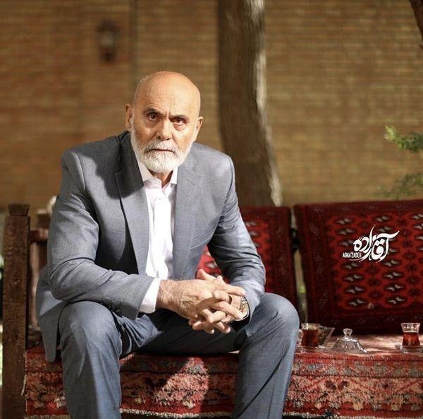 تیپ رسمی جمشید هاشم پور + عکس