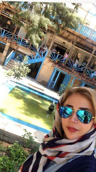 شبنم قلی خانی در خانه های سنتی شمال + عکس