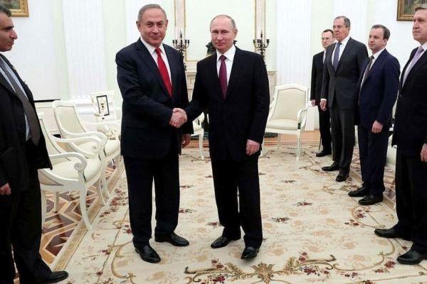 نتانیاهو در دیدار احتمالی با پوتین درباره ایران گفتگو میکند