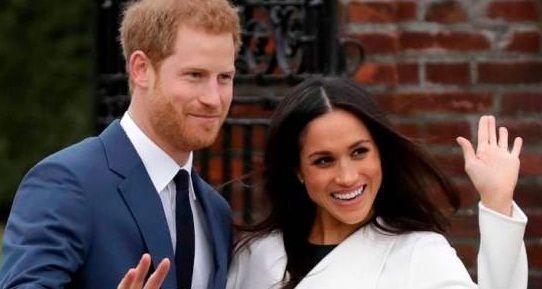 حضور شاهزاده هری و مگان مارکل در مراسم تولد ملکه