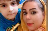 بهار ارجمند و برادرزاده شیطونش + عکس