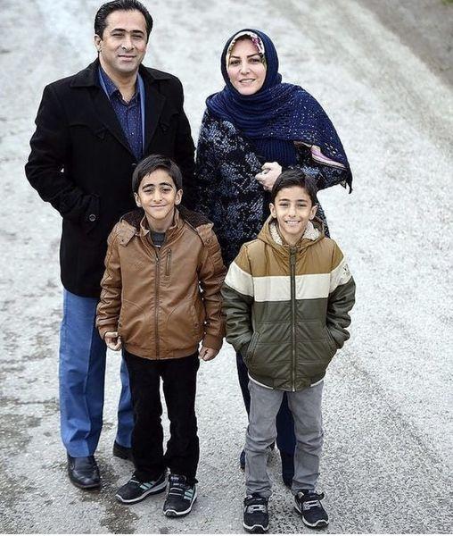 دو مجری معروف در کنار فرزندانشان + عکس