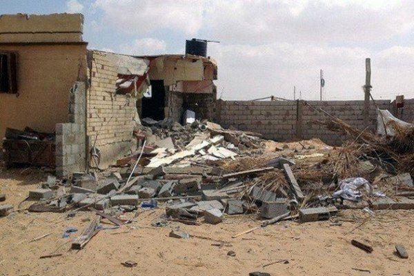 حمله مسلحانه به پایگاه ارتش مصر در سیناء