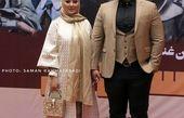 ست شیک الهام حمیدی با همسر ورزشکارش+عکس