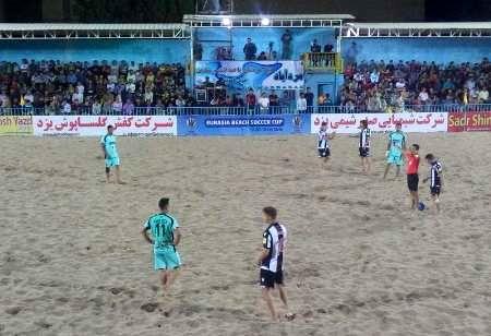 تیم مقاومت گلساپوش ایران ، لوانته اسپانیا را شکست داد