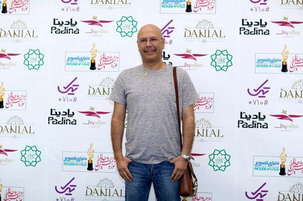 تیپ ساده محمد بحرانی در جشن حافظ+عکس