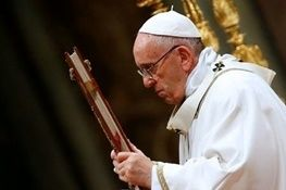 پاپ وادار به پاکسازی در کلیساهای شیلی شد