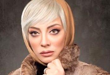 چهره متفاوت حمیرا ریاضی بازیگر 51 ساله به عنوان مدل آرایشی! عکس