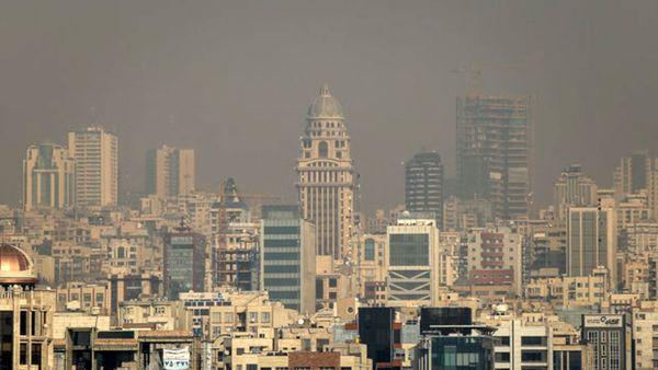 تهران در مرز آلودگی