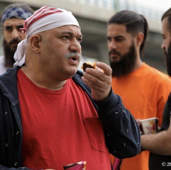 نادر سلیمانی با لباس پرسپولیسی+ عکس