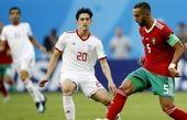 دفاع آهنین تیم کیروش در مقابل اسپانیا