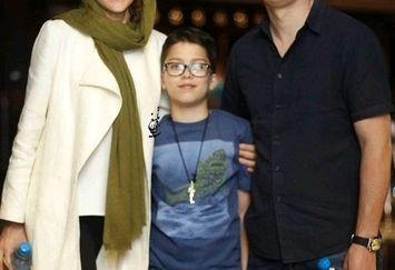 ویشکا آسایش در کنار همسر و فرزند نازنینش+عکس