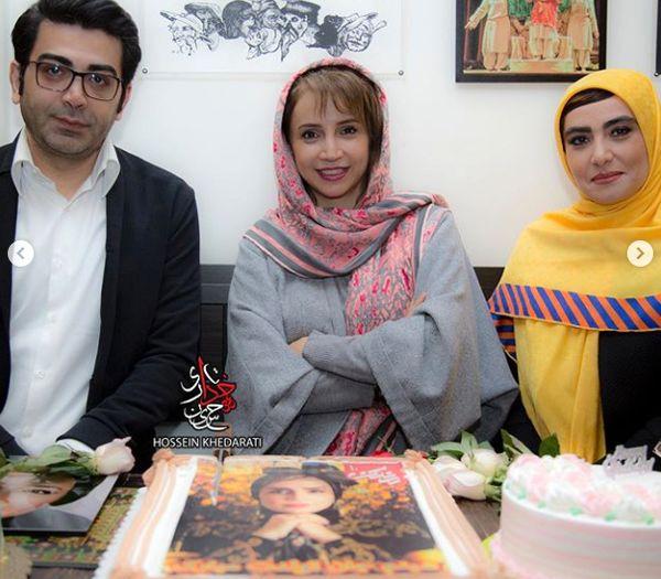 آقای مجری ممنوع التصویر در تولد شبنم قلی خانی+عکس