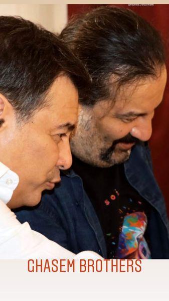 برادران قاسم خانی در کنار هم + عکس