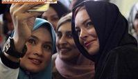 بازیگر جنجالی و پرحاشیه با حجاب شد