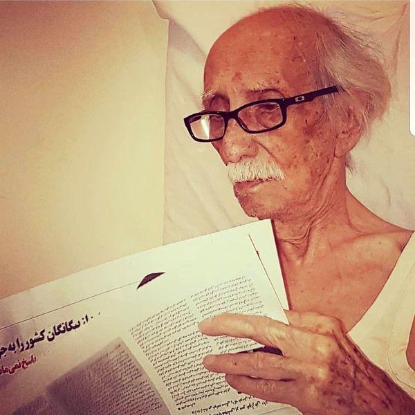 آخرین خبر از حال استاد داریوش اسد زاده+عکس