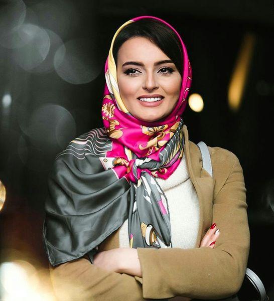 شلوار عجیب خانم بازیگر ایرانی + عکس