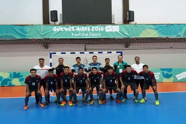 پیروزی پرگل تیم فوتسال ایران مقابل جزایر سلیمان