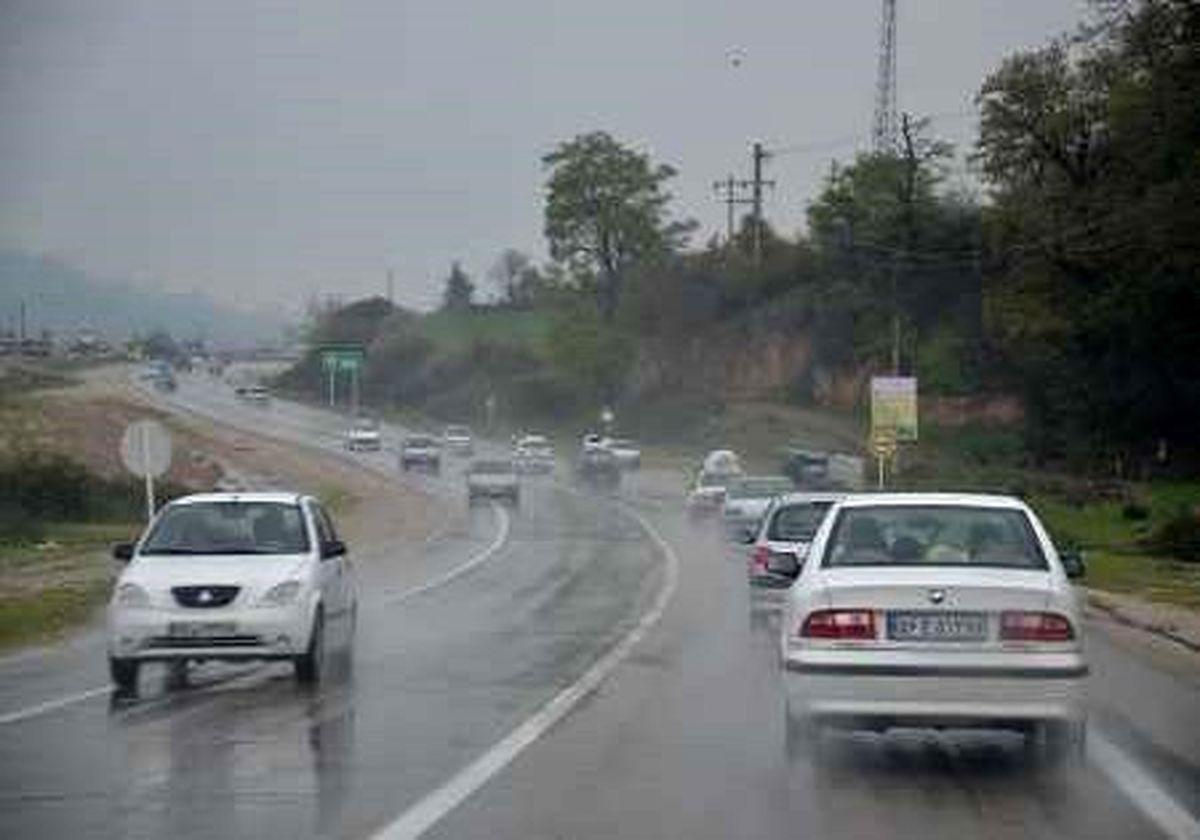 وضعیت ترافیکی و جوی جاده های کشور