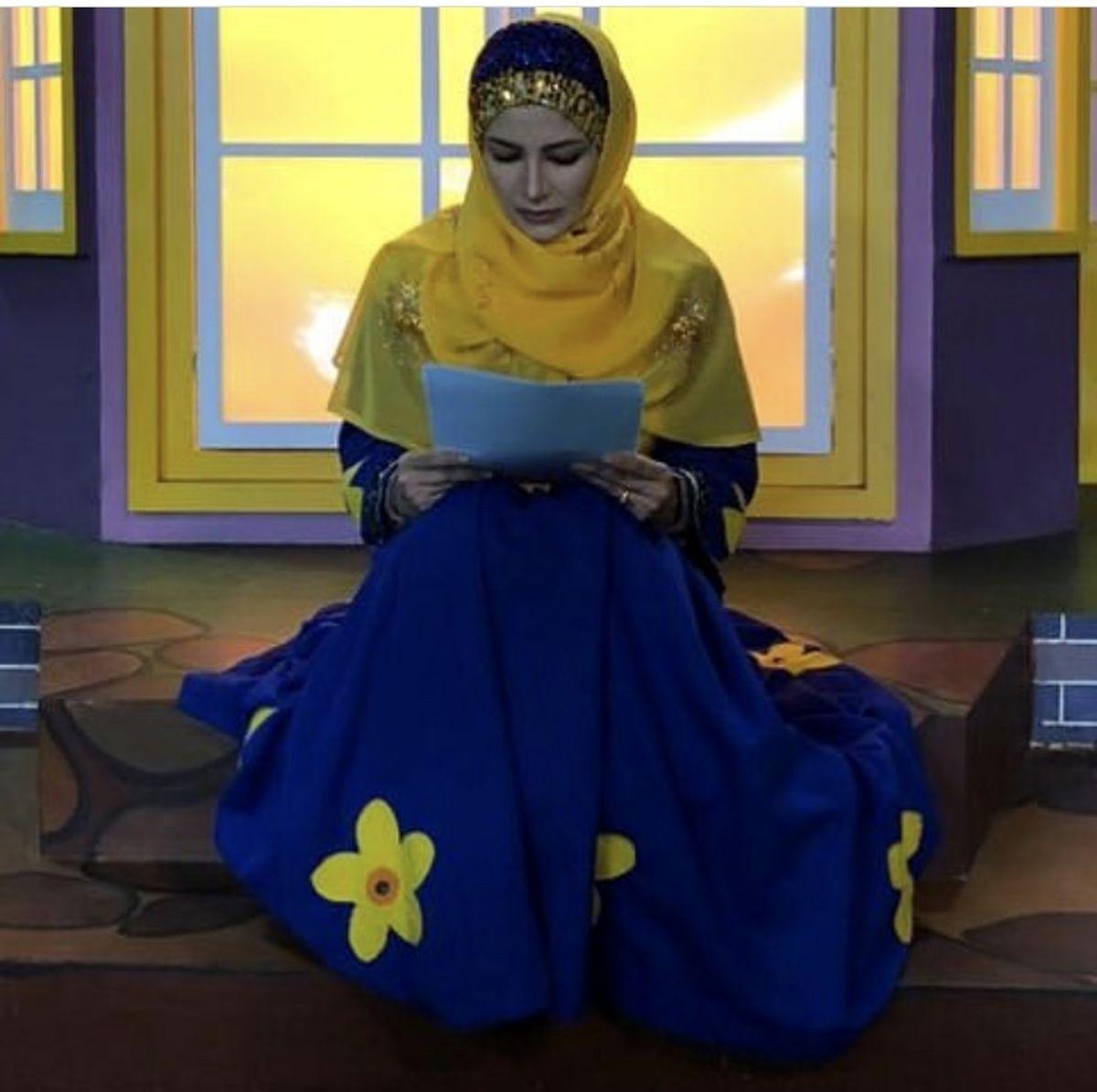 تیپ رنگی ملیکا زارعی + عکس