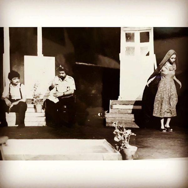 رضا رویگری در تئاتر قبل از انقلاب+عکس