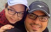 شهرام قائدی و دختر کپی برابر اصلش+عکس