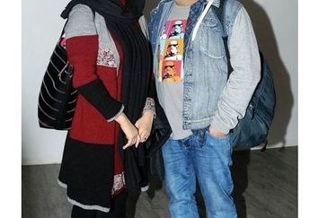 عکس خسته شقایق دهقان و همسرش