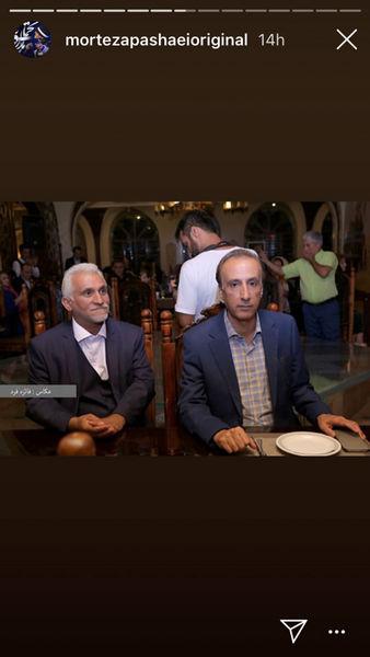 آقای گوینده خبر جدی در جشن تولد+عکس