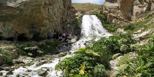 نزدیک ترین آبشارهای اطراف تهران کجاست ؟ / مکان های دیدنی تهران